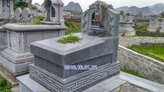 Mộ không mái 02-Mẫu mộ không mái đẹp