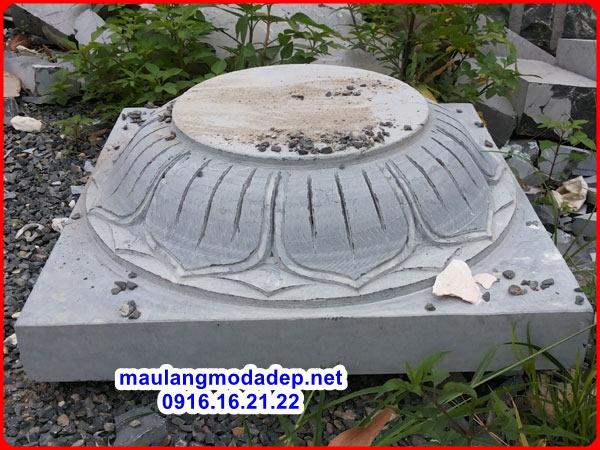Mẫu chân tảng đá kê cột 02