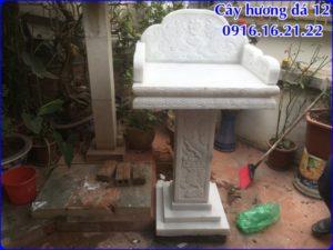 Mẫu cây hương đá thờ thiên 12
