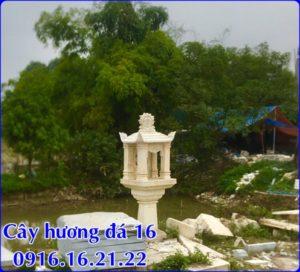 Mẫu cây hương đá thờ thiên 16