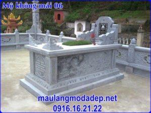 Mẫu mộ không mái đẹp 06