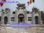 Mẫu cổng nhà thờ họ đẹp bằng đá 29 - Mẫu cổng tam quan có mái che
