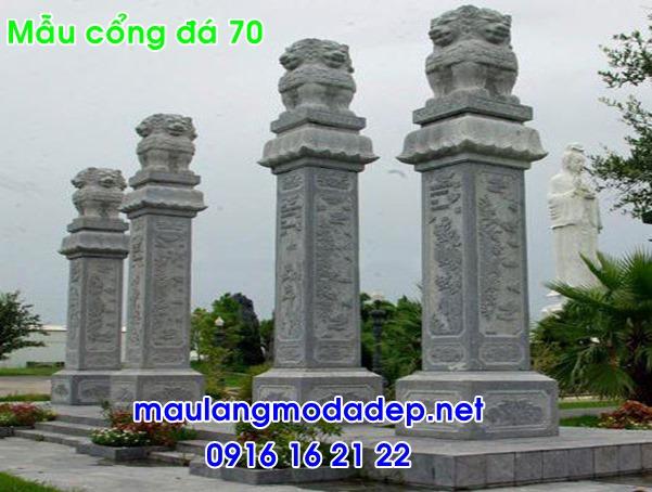 Ảnh cổng nhà thờ họ bằng đá-70