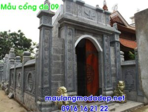 Cổng nhà thờ đẹp bằng đá 09