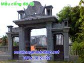 Cổng nhà thờ họ đẹp 2