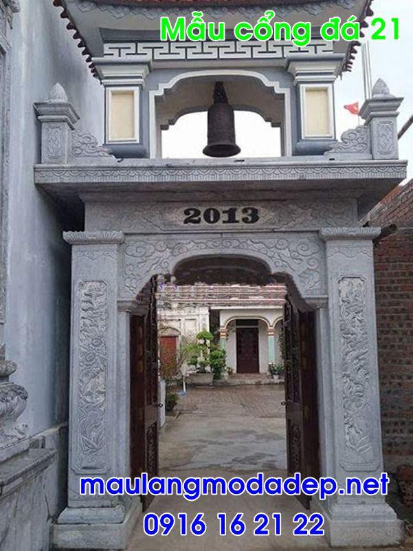 Cổng nhà thờ họ đẹp bằng đá 21