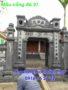 Cổng nhà thờ họ đẹp bằng đá 27