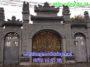 Mẫu cổng nhà thờ họ bằng đá 38