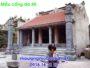 Mẫu cổng nhà thờ họ bằng đá 40