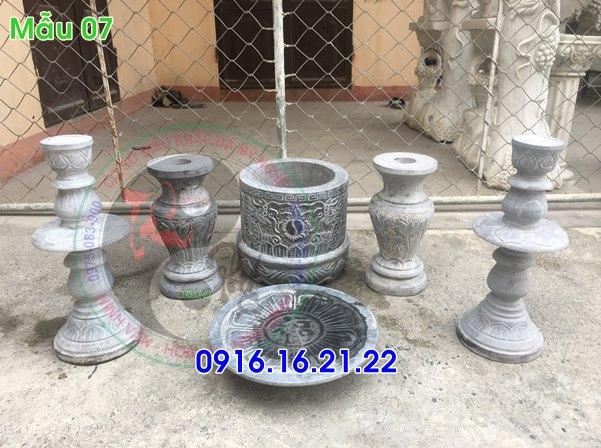 Mẫu đồ thờ cúng bằng đá tại Hà Nội 07