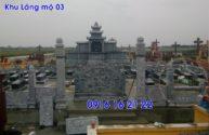 Lăng mộ đá ninh bình đẹp nhất hiện nay lắp đặt tại điện biên 03