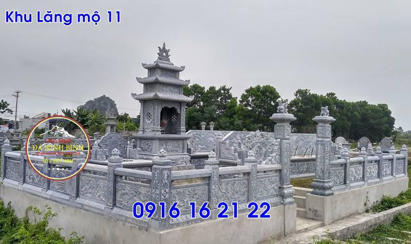 Lăng mộ đá ninh bình thiết kế đơn giản đẹp bán tại hải dương 11