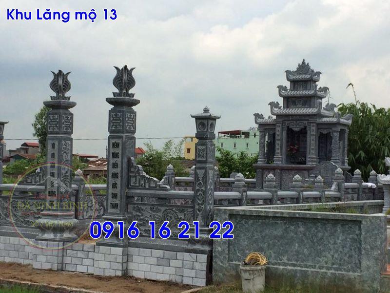 Lăng mộ đá ninh bình thiết kế đơn giản đẹp bán tại hưng yên 13