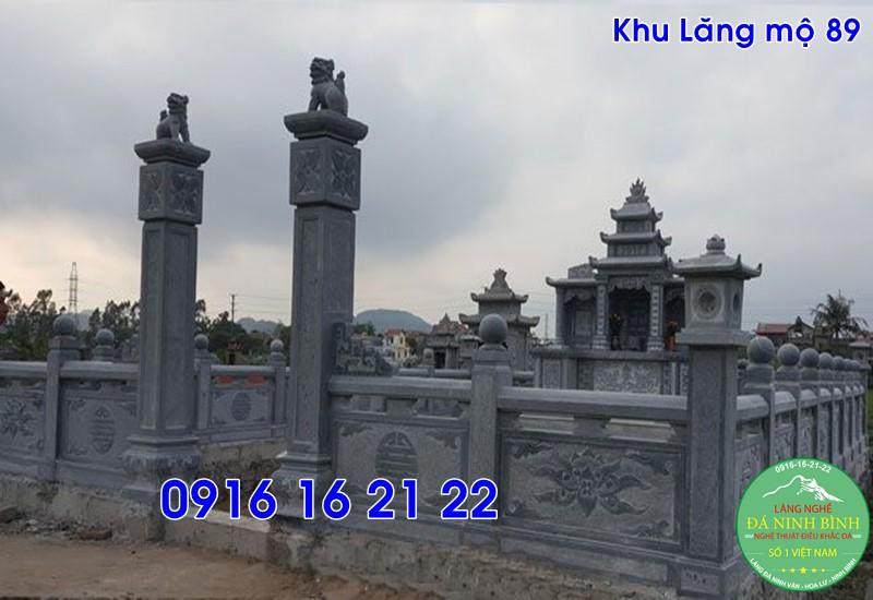 Các mẫu lăng mộ đẹp gia đình bằng đá thiết kế đẹp tại an dương 89