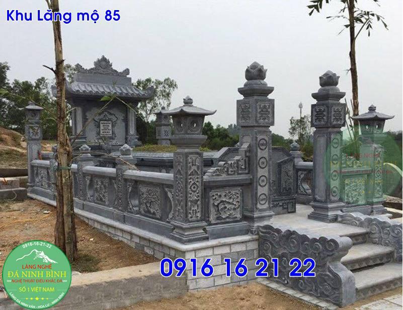 Các mẫu lăng mộ đẹp gia đình thiết kế đẹp bán tại thạch thất 85