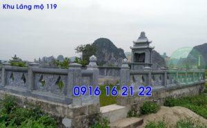 Khu lăng mộ đá gia đình cho dòng họ đẹp nhất 119