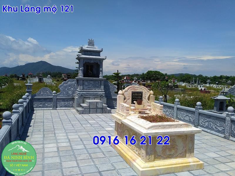Khu lăng mộ đá gia đình cho dòng họ thiết kế đẹp nhất 121