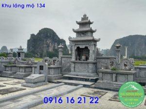 Khu lăng mộ đá thanh hóa xây đẹp cho dòng họ giá rẻ 134