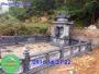 Khu lăng mộ đá thanh hóa xây đẹp cho dòng họ giá rẻ 135