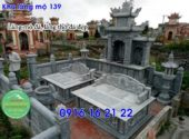 Khu lăng mộ đá xanh thanh hóa xây đẹp cho dòng họ giá rẻ 139