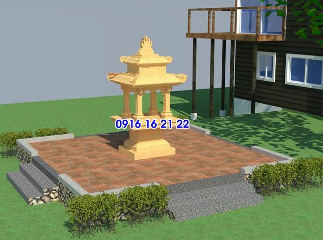 Nên chọn chất liệu nào để xây bàn thờ Tứ Diện Thần