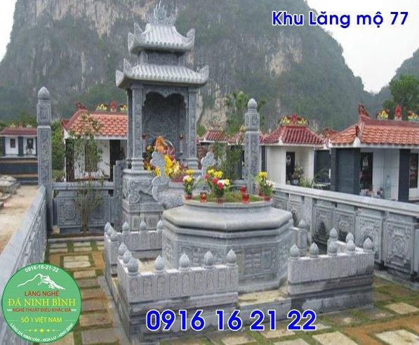 Những mẫu lăng mộ xây đẹp bằng đá giá rẻ bán tại phúc thọ 77