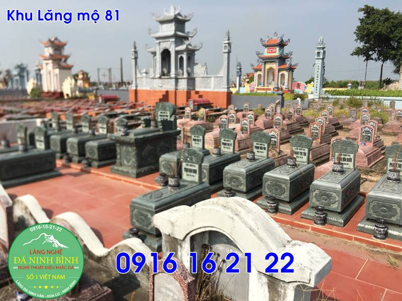 Những mẫu lăng mộ xây đẹp bằng đá giá rẻ tại mê linh 81