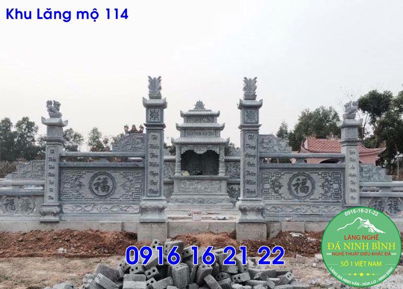 Thiết kế khu lăng mộ mẫu lăng mộ đẹp cho dòng họ bằng đá 114