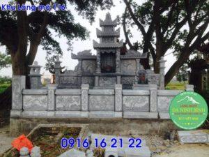 Thiết kế khu lăng mộ mẫu lăng mộ đẹp gia đình dòng họ bằng đá 116