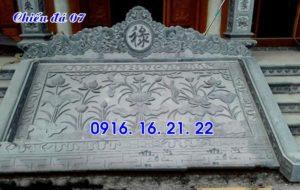 13 mẫu chiếu rồng đá nhà thờ họ đẹp nhất hiện nay