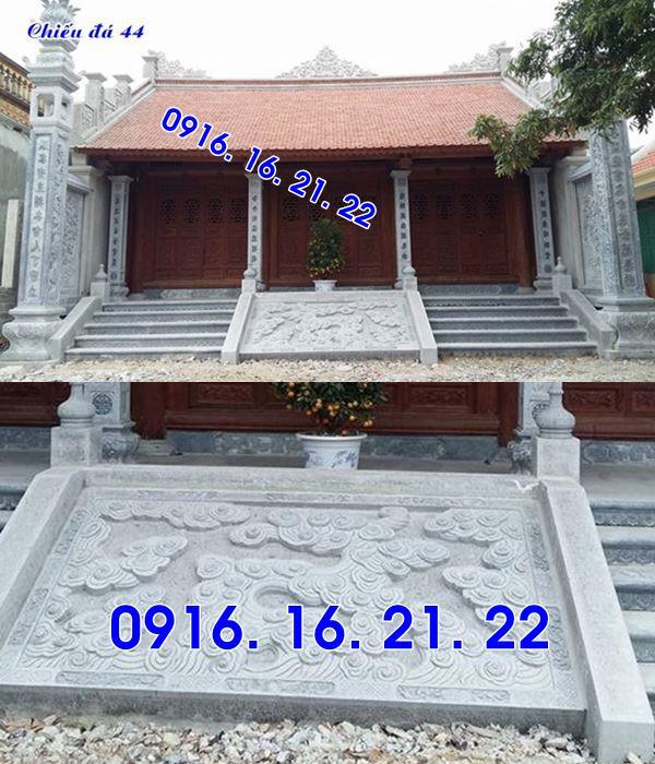 Mẫu chiếu rồng đá nhà thờ họ từ đường đình chùa đẹp 44