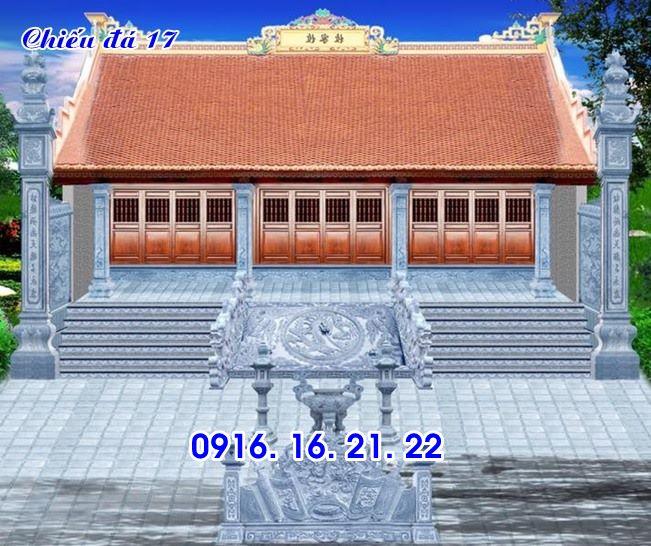 Mẫu chiếu rồng nhà thờ họ từ đường đình chùa đẹp bằng đá 17