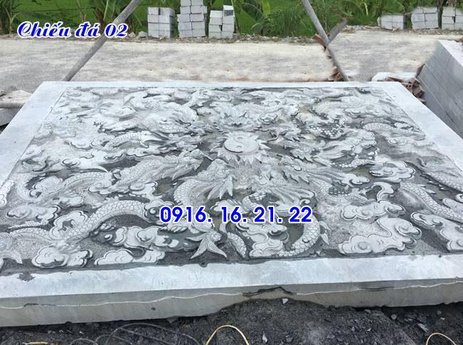 Thiết kế lắp đặt bán chiếu rồng đá chiếu đá nhà thờ họ đẹp giá rẻ 02