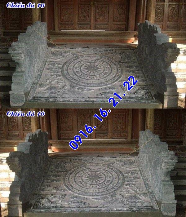 Thiết kế lắp đặt bán chiếu rồng đá chiếu đá nhà thờ họ đẹp giá rẻ 10