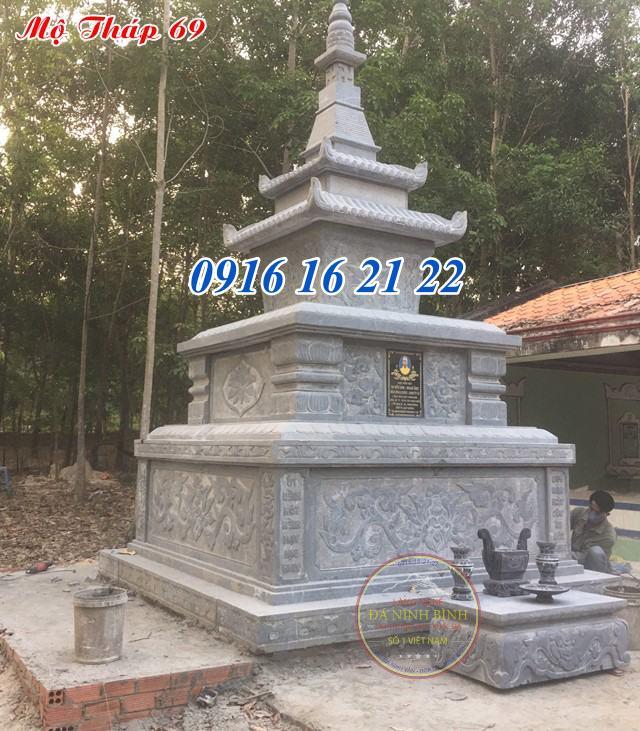 17 mẫu mộ tháp đá hình tháp bằng đá đẹp nhất năm 2021