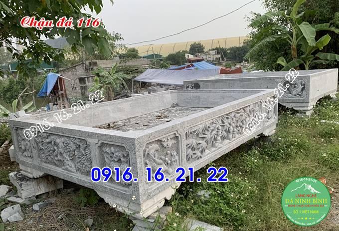 20 mẫu bể đá cảnh ang chậu đá trồng cây cảnh bằng đá 116