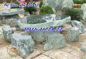 Bàn ghế đá cẩm thạch đẹp 87