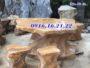 Bàn ghế đá tự nhiên giá rẻ 45
