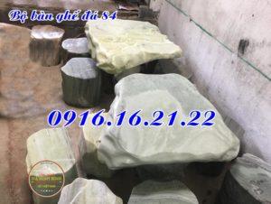 Bộ bàn ghế đá cẩm thạch 84