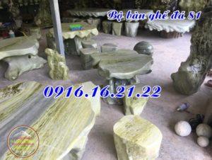 Bộ bàn ghế đá giá rẻ đẹp 81