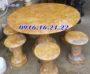 Bộ bàn ghế đá tự nhiên 65
