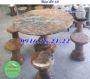 Bộ bàn ghế đá tự nhiên đẹp 68