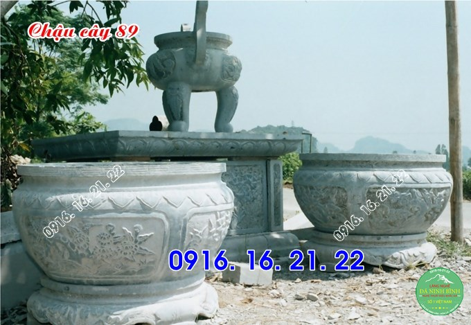 Hình ảnh ang chậu cây cảnh bằng đá đẹp giá rẻ 89