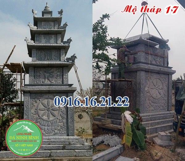Mẫu mộ tháp bằng đá đẹp nhất hiện nay