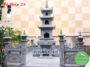 Mẫu mộ tháp đá đẹp 28