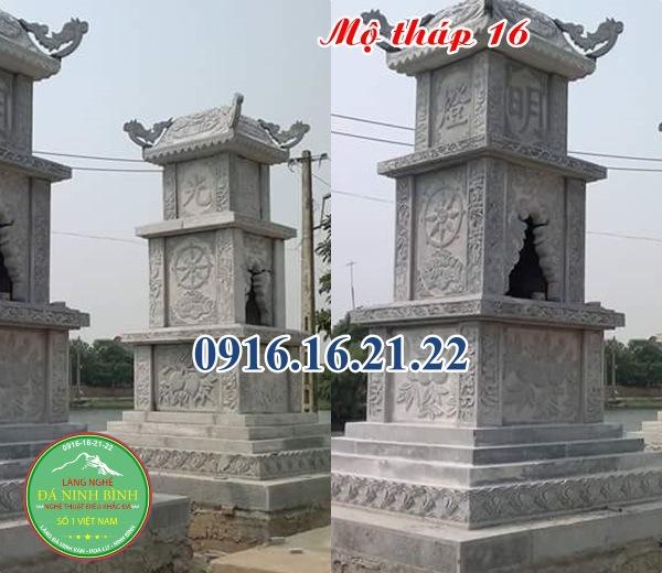 Mẫu mộ tháp phật giáo đẹp 16