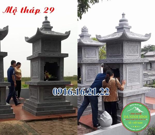 Mộ tháp đá 29