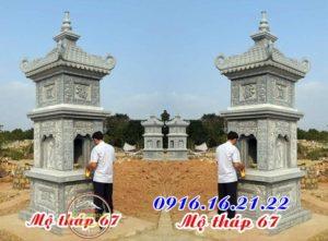 Xây mẫu mộ tháp phật giáo đẹp 67