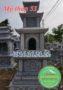 Xây mộ tháp đẹp bằng đá 53