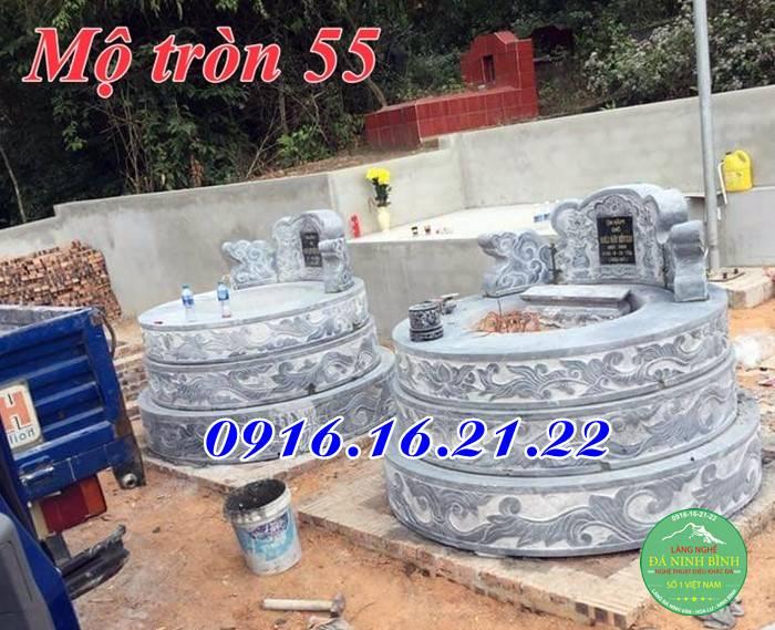Lăng mộ hình tròn 55
